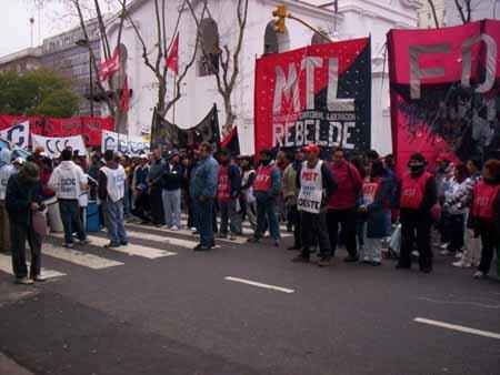 Desocupadxs en Argentina