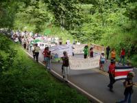 Costa Rica: Caminata Popular, Por la Dignidad del Sur. Created by: Collectivo