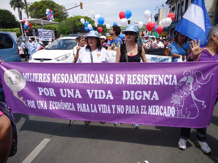 Mesoamericanas en Resistencia por una Vida Digna Denunciamos