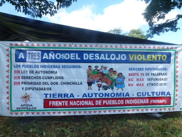 Amenaza de violencia en territorio indigena de Salitre Desalojo de familia de tierras recuperadas