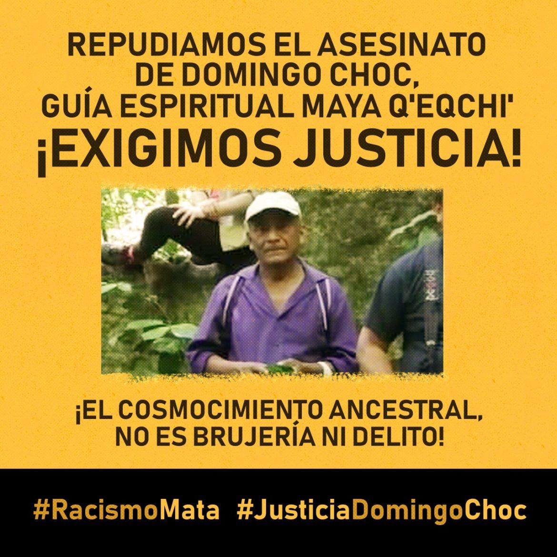 GUATEMALA. ¿Quién era Domingo Choc? Alijonel Maya Q'eqchi'