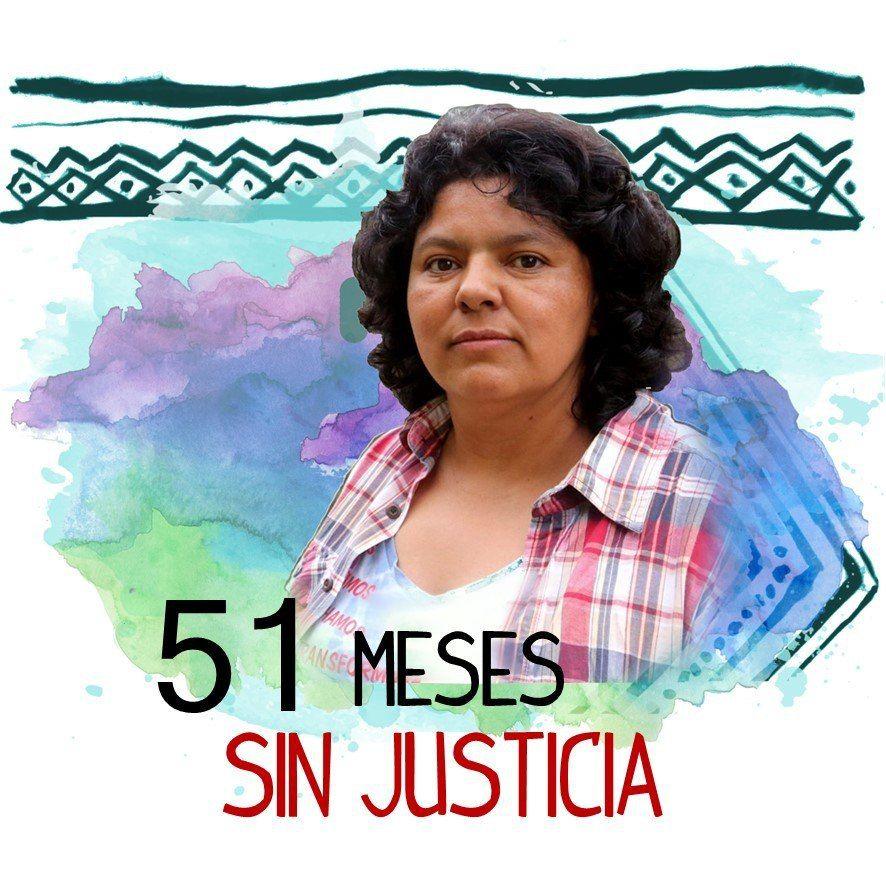 HONDURAS. 51 meses del asesinato de Berta Cáceres