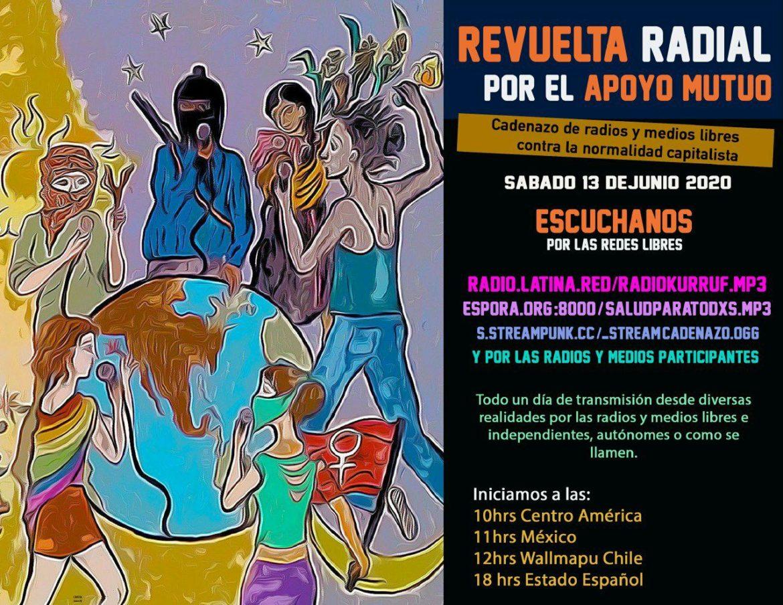 Reporte Radio 8 de Octubre para Revuelta Radial por el Apoyo Mutuo