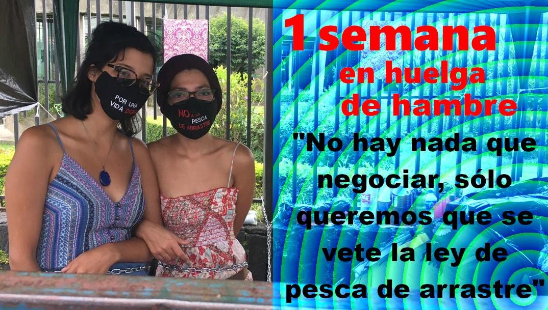 COSTA RICA. 1 semana de huelga de hambre para exigir el veto a la ley de pesca de arrastre (Entrevista)